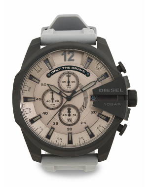 Men's Mega Chief 51mm Silicone Strap Watch