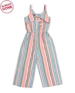 Big Girls Tie Top Jumpsuit