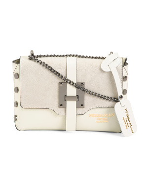 Made In Italy Claudia Leather Crossbody