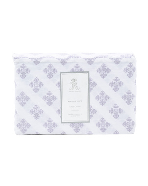 Cotton Little Medallion Sheet Set