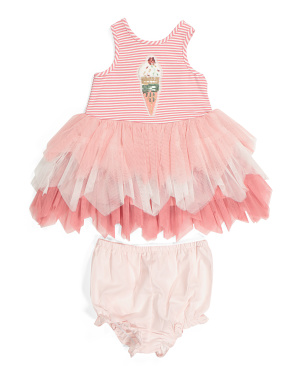 Baby Girls Ice Cream Tutu Dress