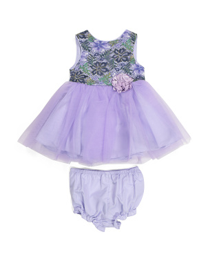 Baby Girls Lace Ballerina Dress