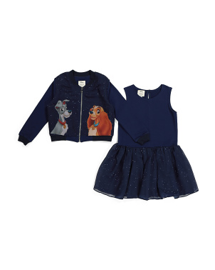 Lady & The Tramp Dress And Jacket Set