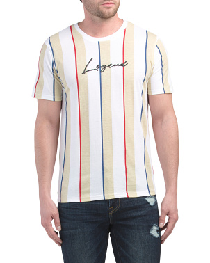 Legend Puff Print Stripe Tee