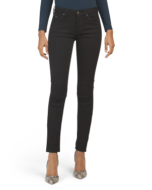 Superstretch Mid Rise Skinny Jeans