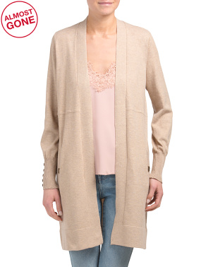Slouchy Duster Cardigan