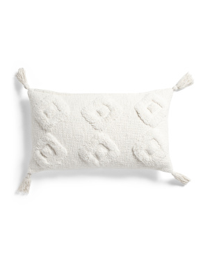 14x24 Tufted Lumbar Pillow