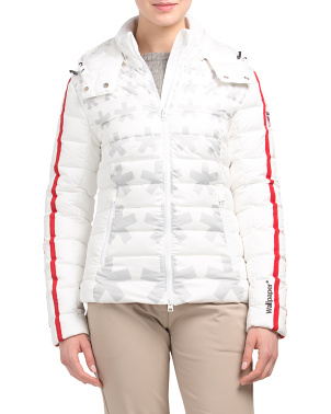 Carolina Asterisk Duck Down Jacket