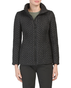 Rosine Chevron Pattern Jacket