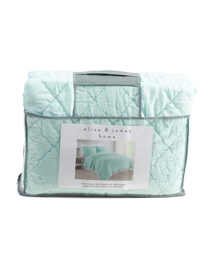 Ultra Soft Elettra Quilt Set