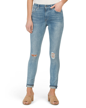 Made & Crafted 721 Selvedge High Rise Skinny Jeans