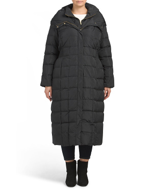 Plus Taffeta Down Jacket
