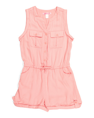 Big Girls Romper