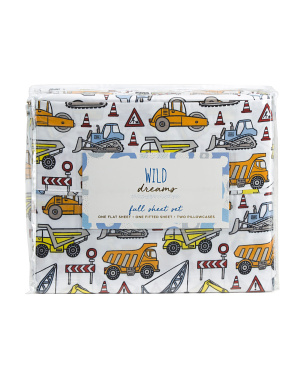 Road Work Full Sheet Set