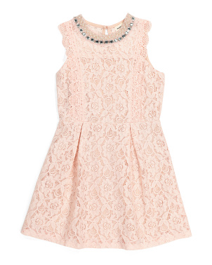 Little Girls Lace Dress
