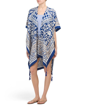 Luxury Resort Wear Kimono Cover-up