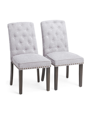 Set Of 2 Daisy Wing Dining Chairs
