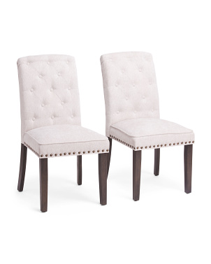 Set Of 2 Daisy Dining Chairs