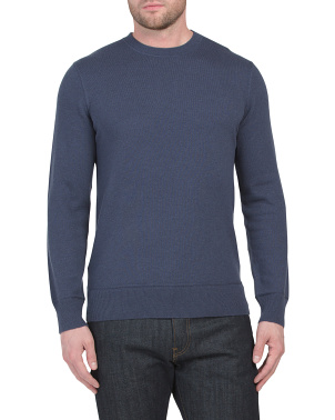 Hiles Cashmere Crew Neck Sweater