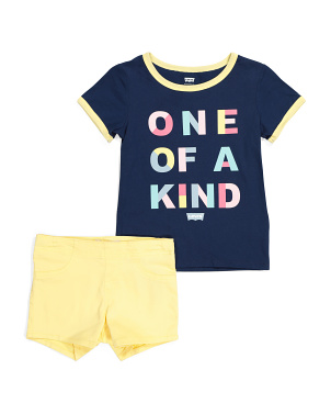 Little Girls 2pc Short Set