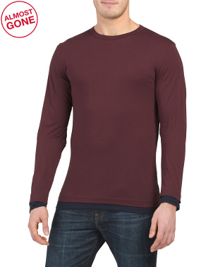 Long Sleeve Double Tee