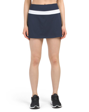 Heritage Color Block Tennis Skirt