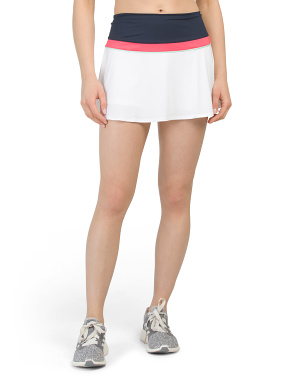 Heritage Color Block Tennis Skort