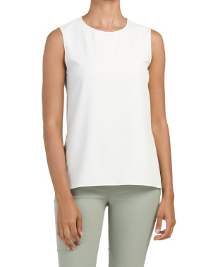 Keyhole Back Sleeveless Top