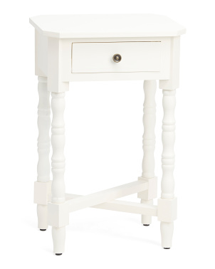 1 Drawer Usb Accent Table