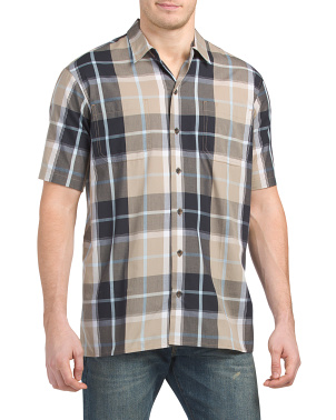 Plaid Camper Short Sleeve Shirt