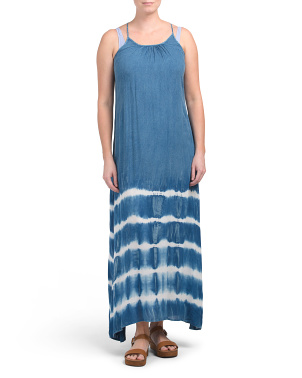 Maxi Bottom Tie Dye Dress