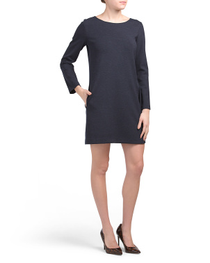 Double Jersey Knit Dress