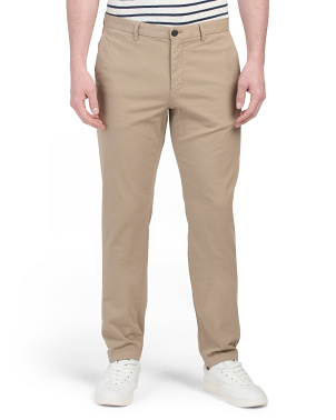 Zaine Garment Washed Stretch Chinos