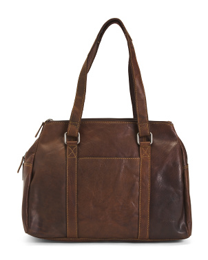 Leather The Satchel