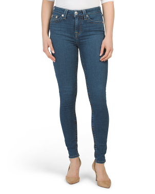 High Rise Halle Skinny Jeans