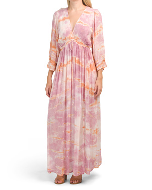 Meadow Tie Dye Maxi Dress