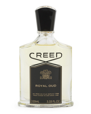 Unisex Made In France 3.3oz Royal Oud Eau De Parfum