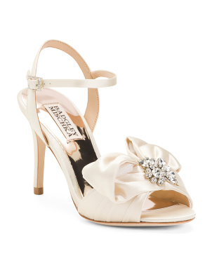 Bridal Bow Heel Sandals