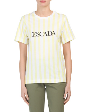 Made In Portugal Striped T-shirt