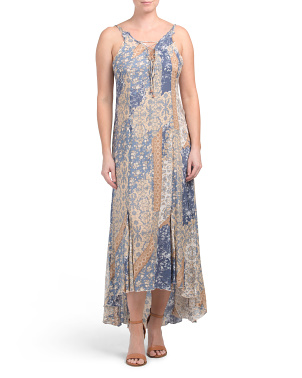 Work Of Art Printed Maxi Dress