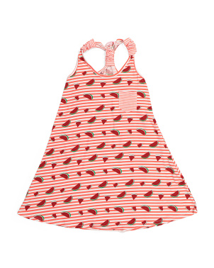 Big Girls Comfy Fruit Dress