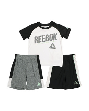 Little Boys 3pc Radar Short Set