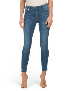 Mid Rise Tummy Tuck Fit Solution Skinny Jeans