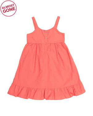 Big Girls Ruffle Dress