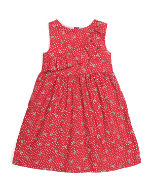 Little Girls Cherry Dress