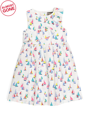 Little Girls Sailboat Dress