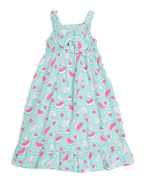 Little Girls Watermelon Dress