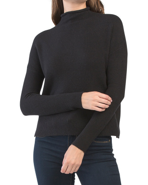 Juniors Recovery Roll Mock Neck Sweater