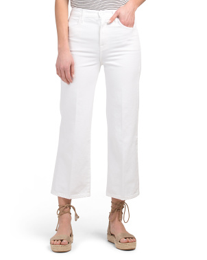 Made In Usa Joan High Rise Crop Jeans