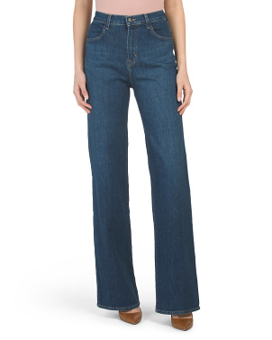 Joan High Rise Wide Leg Jeans